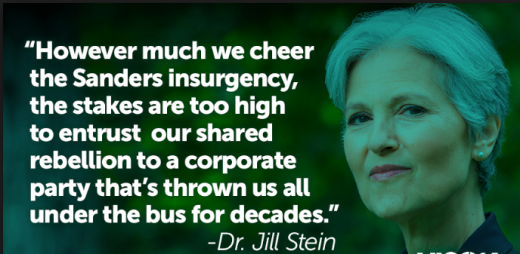 Image result for crazy world of jill stein