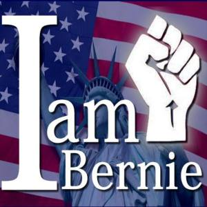 I AM BERNIE FOR THE REVOLUTION