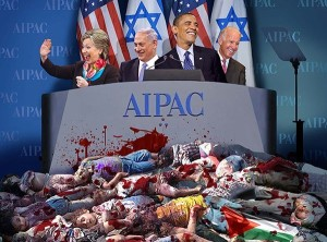 OBAMA & CLINTON AT AIPAC