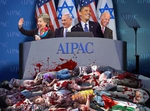 OBAMA & CLINTON AT AIPAC