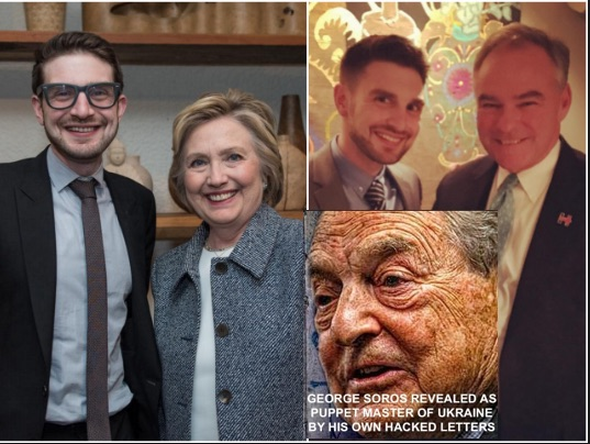 ALEX SOROS & CLINTON & KAINE = DOING PUPPET MASTER WORK FOR GEORGE SOROS