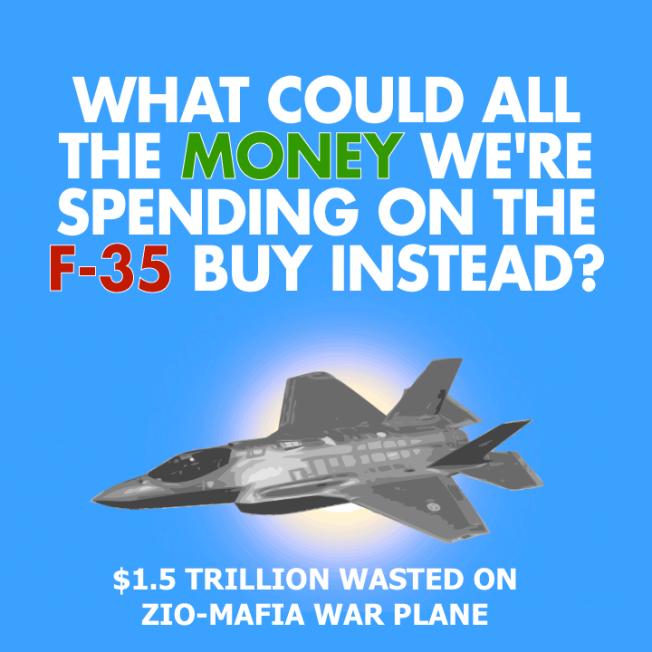 F35 $1.5 TRILLION BOONDOGGLE