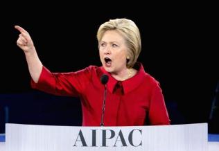 Hillary AIPAC Global Dominance