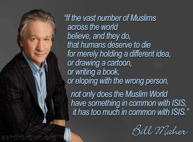 maher-zionist-supremacist-for-mass-murder-of-arabs