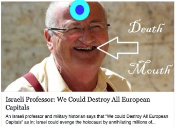 israeli-professor-death-mouth
