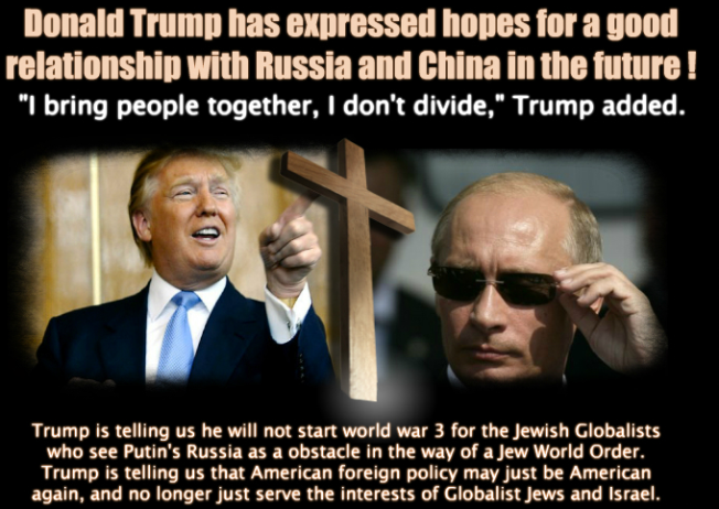 REASONS WHY THE BRITISH-SWISS ROTHSCHILDS CRIME SYNDICATE HATES TRUMP AND RUSSIA