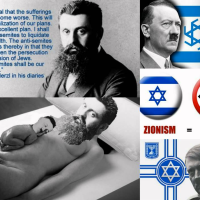 ZIONISM = NAZISM = TERRORIST CRIMINALS GUIDED BY BRITISH-SWISS-ISRAEL ROTHSCHILDS SATANIC WORLD DICTATORSHIP AGENDA AGAINST HUMANITY!
