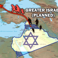 GREATER ISRAEL ZIO-NAZI PLAN = LEADS TO ROTHSCHILDS WORLD DICTATORSHIP