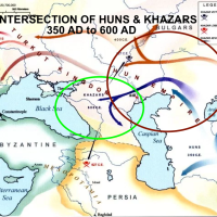 TIMELINE OF THE HUN EMPIRE + THE HUNGARIAN EMPIRE + THE SCYTHIAN EMPIRE + SOME HISTORY ON KHAZAR EMPIRE & THE SUMERIAN EMPIRE & THE AVAR-HUN EMPIRE