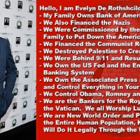 INSANE REALITY OF LIFE IN A ROTHSCHILDS CRIME MAFIA DICTATORSHIP